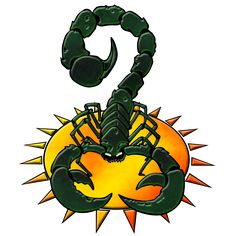 Clan Goliath Scorpion Logo by Punakettu.deviantart.com on @deviantART