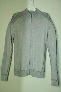 24a0b2b6120 Mens BKE Buckle Slim Fit zip up sweatshirt sport sweater size XL  BKEBuckle   FullZip