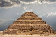 Plan your trip to the ancient necropolis of Saqqara, Egypt with our guide on what to see (including the Pyramid of Djoser) and how to get there. Sharm El Sheikh, Life In Ancient Egypt, Life In Egypt, Pyramid Of Djoser, Memphis City, Recent Discoveries, Visit Egypt, Cult, Seven Wonders