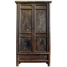 armoire from shanxi province - china - c1880 - LENGTH: 47.5 in. (121 cm) DEPTH: 31.5 in. (80 cm) HEIGHT: 7 ft. 2.5 in. (220 cm)