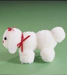1000 images about dog pom poms on pinterest pom pom for Pom pom puppy craft