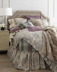 """""""Margeaux"""" Bed Linens by Lauren Ralph Lauren at Horchow."""