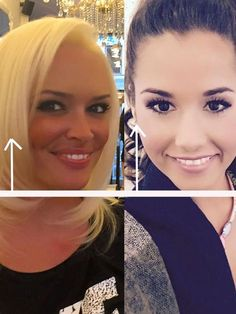 Das sieht gut aus: Daniela Katzenberger könnte auch den einen kurzen Bob tragen. Für Sarah Lombardi sind die langen Haare perfekt.