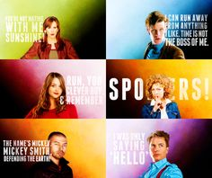These quotes are all you need to learn what these characters are like :)