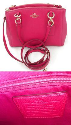 289b82f8bca New Coach F36704 Mini Christie Carryall Satchel Handbag Purse Bag + Wallet  $209.0