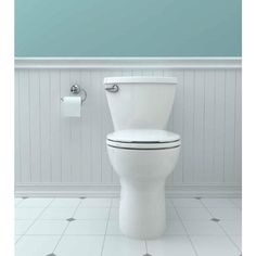 American Standard Cadet 2-piece 1.28 GPF Single Flush Round Toilet with 10 in. Rough-In in White-3376128ST.020 - The Home Depot
