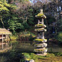 Kaiseki-to lantern. #japan #kenrokuen #kanazawa