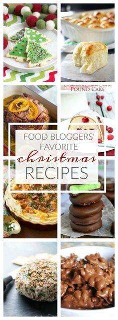 Food Bloggers' Favorite Christmas Recipes