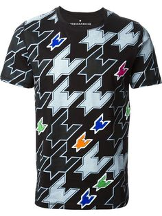 Shop Kris Van Assche houndstooth T-shirt in Wrong Weather from the world's best independent boutiques at farfetch.com. Over 1000 designers from 300 boutiques in one website.