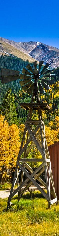the best pics: Colorado windmill