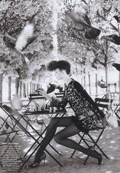 ☆ Karlie Kloss | Photography by Arthur Elgort | For Vogue Magazine US | October 2009 ☆ #karliekloss #arthurelgort #vogue #2009