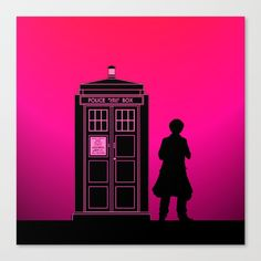 Tardis With The Sixth Doctor - $85