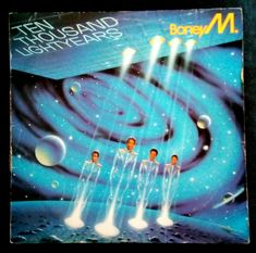 Boney M. - Ten Thousand Lightyears LP Record South Africa Pressing ML 4738 #Disco Boney M, Lp, South Africa, Music, Movie Posters, Movies, Musica, Musik, Films