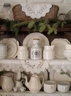 . . . Cabin & Cottage : The Old Welsh Dresser