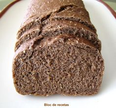 Bloc de recetas: Pan de molde de centeno 100 % integral Pan Bread, Bread Baking, Real Food Recipes, Cake Recipes, Healthy Recipes, Mexican Bread, Chilean Recipes, Bread Machine Recipes, Light Recipes