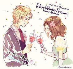 Manga Couple, Couple Cartoon, Anime Girl Neko, Kawaii Anime, Koi, Zutto Mae Kara, Anime Amor, Honey Works, Tamako Love Story