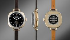 THE GOMELSKY 36mm Dark Brown Leather Watch | Shinola® $545, made in Detroit, USA