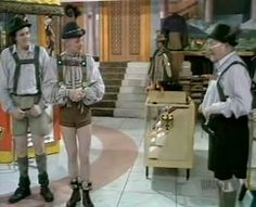 Are You Being Served, British sitcom, hilarious. German week.