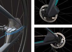 PARLEE Cycles | RZ7 LE Carbon Road Bike, Bottom Bracket, Brake Calipers, Road Bikes, Road Cycling, Custom Paint, Carbon Fiber