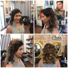Hair & Makeup 40 style made modern by Piero Zattera.  En Onda Salon todo su staff esta a tu disposición para que tu cambio de estilo sea una realidad. Te atreves..... Visítanos e infórmate.   #ondasalon #40style #style #hairup #blowdry #recogido #semirecogido #peinado #hairsalon #hairsalonbarcelona #peluqueria #peluqueriabarcelona #pierozattera #barcelona #barceloneta