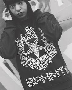 """Baphomet Lotus"" Sweatshirt available at www.crmc-clothing.co.uk 