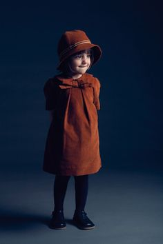 Vintage-inspired kids dress; link is to Hucklebones of London but I can't find this specific dress for a direct link - it is from AW '10?