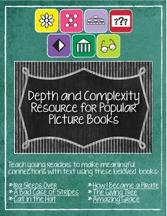 Depth and Complexity for Primary Students!