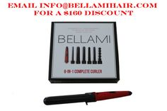 BELLAMI 6 in 1 Complete Curler Set - Email info@bellamihair.com OR use code eshani6inone for $160 discount!