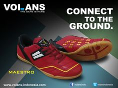 Maestro (Red) Volans Futsal Shoes