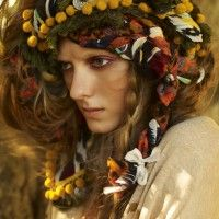 """Eir (""""mercy"""") is a minor Norse Goddess of Healing. She knew the secret powers of herbs, with which she could even resurrect the dead. She taught the art of healing only to women, who, in ancient Scandinavia, were the only physicians. She is the patroness of health-care workers, called on against sickness or injury. Shamanic healing, especially, falls into her realm."""