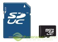 Se vienen las tarjetas SD de hasta 128TB de informacion