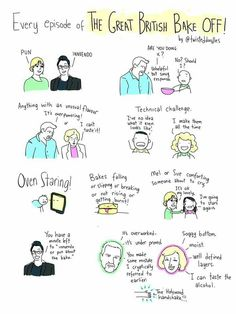 Every episode of GBBO ever... <3