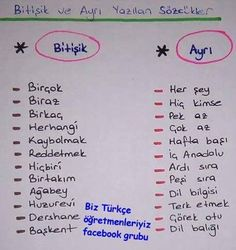 Türkçe kpss School Notes, Education English, Special Education, Kids Education, Turkish Language, Turkish Lessons, Learn Turkish, Study Planner, English Verbs