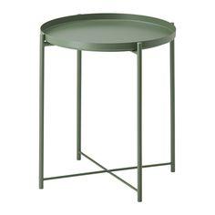 IKEA GLADOM Tray Table - Dark Green   Livingroom   Urban Sales