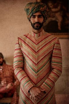 Always wanted to know what does Sabyasachi Menswear Sherwani Cost? I am sharing here some of the best wedding sherwanis along with prewedding outfits. Sherwani For Men Wedding, Wedding Dresses Men Indian, Sherwani Groom, Wedding Dress Men, Wedding Men, Wedding Poses, Wedding Outfits, Wedding Tuxedos, Indian Gowns