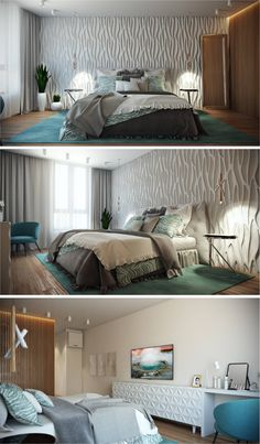 Conteporary Style Bedroom By Alyona Andronikova Interior Design Course Student In European School Kiev Ukraine