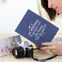 Las aventuras empiezan con una página en blanco....Mr.Wonderful libretas viajeras!!!  www.ah-alexandra.com,visitanos y anota tu experiencia en estos magníficos cuadernos de bitácora que nos han enamorado!!! <3