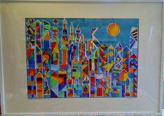 Hamilton School's Spring Fundraiser - 4th Grade Art Projects ...