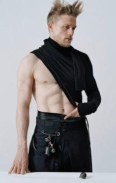 Charlie Hunnam Poses Shirtless in Edgy V Man Photo Shoot, Talks Heartbreaking Fifty Shades of Grey Experience   E! Online Mobile