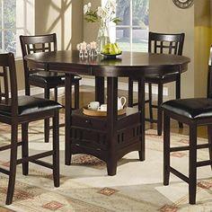 Coaster Counter Height Dining Table Extension Leaf Dark C... https://smile.amazon.com/dp/B0054H3ZO2/ref=cm_sw_r_pi_dp_x_ta3FybVTN4MH5