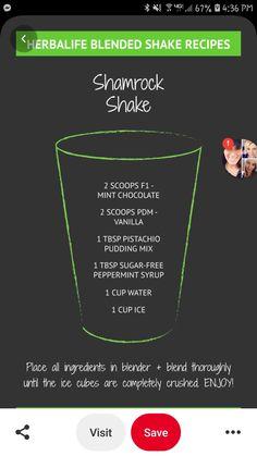 Herbalife Plan, Herbalife Shake Recipes, Protein Shake Recipes, Herbalife Nutrition, Healthy Diet Recipes, Tea Recipes, Chocolate Herbalife Shakes, Herbal Life Shakes, Herbal Detox