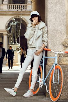 The Coolest All-White Ensembles of the Season From Teen Vogue August 2013