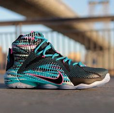 d3d65623539c LeBron James  Nike Basketball signature sneaker is themed around technology  with its technical build and tech based color themes.