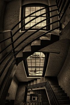 Colonial Warehouse downtown minneapolis mn - stairs, stairway, staircase, stairwell, flight of stairs