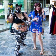 Amazing Roadhog cosplay by @bellexi.cosplay. Cosplay is for everyone!!!