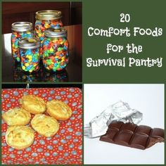 20 Comfort Foods for the Survival Pantry - Backdoor Survival