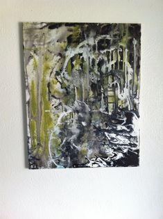 Medium Original Abstract Art Painting acrylic by CosmicCannibalArt