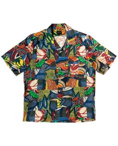 HAWAIIAN_SHIRT-African_Patchwork-Front