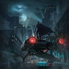 Batman and Gotham city Batman Poster, Batman Artwork, Batman Wallpaper, Dark Knight Wallpaper, Batman Arkham Knight, Batman The Dark Knight, Catwoman, Batman Gifts, Univers Dc