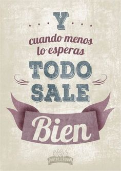 Spanish phrases, quotes, sayings. Positive Vibes, Positive Quotes, Motivational Quotes, Inspirational Quotes, Mr Wonderful, Favorite Quotes, Best Quotes, Love Quotes, Quotes Pics